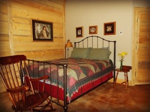 Log Cabin Room at Edgewood Inn